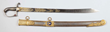 English Napoleonic Era Officer's Sword & Scabbard, lot 793