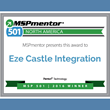 Eze Castle Integration Ranked Among Top 501 Managed Service Providers by Penton Technology's MSPmentor