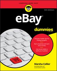 eBay For Dummies, eBay book, Marsha Collier, eBay, Wiley