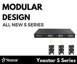 Yeastar S-Series Modular Design