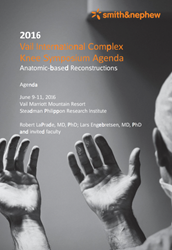 2016 vail international knee symposium dr. laprade & dr. engebretsen smith & nephew
