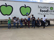 In Houston, TX, 160 students from the College Community Career Center collected 240 pounds of food and educated 4000 community members about hunger.