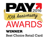 PayBefore Best Choice Retail Card Winner