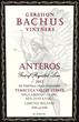 Gershon Bacchus wine label