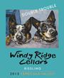 Oak Mountain Double Trouble wine label