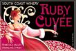 South Coast Ruby Cuvee wine label