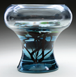 Lot #2020, a Tiffany Aquamarine vase estimated at $35,000-45,000.