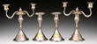Lot #1180, Tiffany candlesticks and candelabras, estimated at $150,000-250,000.