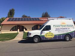 Powertown Solar Riverside California