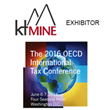 ktMINE to Exhibit at The 2016 OECD International Tax Conference
