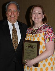 2016 USDLA Leadership Award Presented to Amanda Ebel, M.Ed., Executive Director, South Carolina Connections Academy