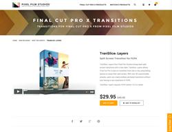 Pixel Film Studios Plugin - TranSlice Layers - FCPX