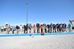Salt Lake Community College breaks ground for its new Westpointe Career and Technical Education Center.