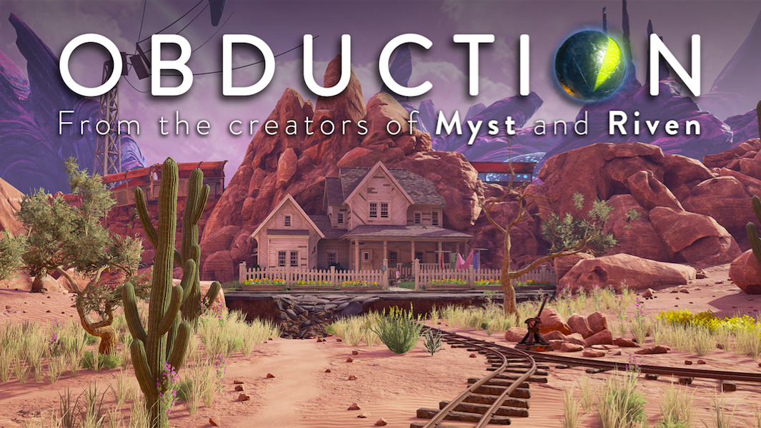 ... Announces Street Date for Highly-Anticipated Obduction PC VR Game