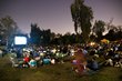 Crowd settles in for a fun movie night at North Hollywood Park