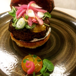 Bourbon Prime Burger, Regatta Bar & Grille