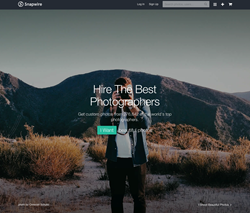 Snapwire for Buyers and Photographers on Web