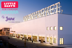 Union Market, Washington, D.C., the new location of Little Baby's Ice Cream