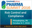 ComplianceOnline to Host Pharma Summit 2016 on October 6-7, 2016 in Philadelphia, PA