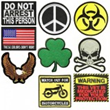 Wholesale Biker Patches