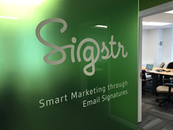 Sigstr email signatures office