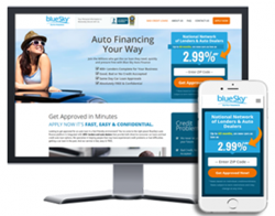 Record blueSky Auto Finance Applications from Desktop and Mobile Devices