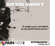 PAINWeekEnd: Pittsburgh Hosts Pain Management CE/CME Conference for The Main Street Practitioner on June 25