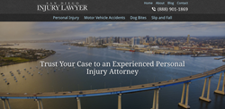 San Diego Injury Lawyer - Law Firm Website