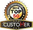 The 2016 CUSTOMER Magazine Top 50 Contact Center Outsourcing Awards Ranking recognizes the top inbound and outbound teleservices agencies, both domestic and international