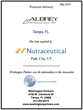 Washington Partners Announces that Aubrey Organics, Inc. has been Acquired by Nutraceutical Corporation