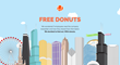 The Free Donut Experiment: Mapping the Spread of Information Among Employees
