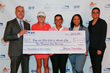 Horizon Blue Cross Blue Shield of New Jersey joins LPGA players Natalie Gulbis and Candy Hannemann in Horizon Healthy Steps Challenge for charity during ShopRite LPGA Classic Presented by Acer