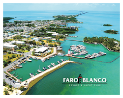 A view from above Faro Blanco Resort, Yacht Club and Marina in Marathon, Florida!