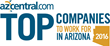 2016 AZCentral.com Top Companies to Work for in Arizona