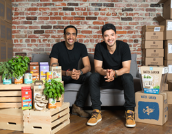Back to the Roots Co-Founders Nikhil Arora and Alejandro Velez