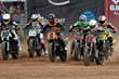 Monster Energy's Brad Baker (#6) Takes Bronze in the Harley-Davidson Flat-Track competition at X Games Austin 2016