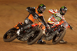 Monster Energy's Kenny Coolbeth, Jr. and Brad Baker Take Silver and Bronze in the Harley-Davidson Flat-Track Competition at X Games Austin 2016