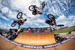 Monster Energy's Vince Byron Competing in BMX Vert at X Games Austin 2016