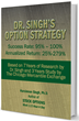 Dr. Singh Files A 95% Win Rate Options Trading Strategy For A Patent And Holds A Webinar.