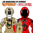 The fire armor for HyperKid and BullBorg