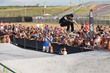 Monster Energy's Chris Cole Competing in Men's Skateboard Street at X Games Austin 2016