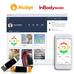 Nudge InBody Integration Makes Fitness Apps and Wearables More Valuable For Fitness Professionals