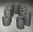 Glaro Inc. Introduces Easier-To-Clean, Seamless Receptacle Liners Molded With Recycled Plastic