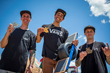 Clean Sweep for Monster Energy's Kevin Peraza Gold, Ben Wallace Silver, and James Foster Bronze in BMX Dirt at X Games Austin 2016
