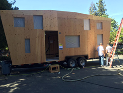 Tiny Homes are under 500 square feet and build in days