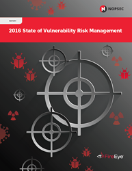 2016 State of Vulnerability Risk Management Report