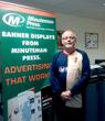 Minuteman Press franchise owner Joe McLaughlin, East Kilbride, Scotland