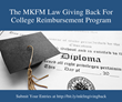 Wheaton Family Law Firm Announces College Reimbursement Program of Funds Up to $4,000