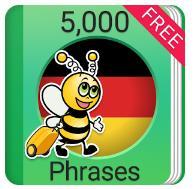Learn German 5,000 Phrases