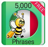 Learn Italian 5,000 Phrases